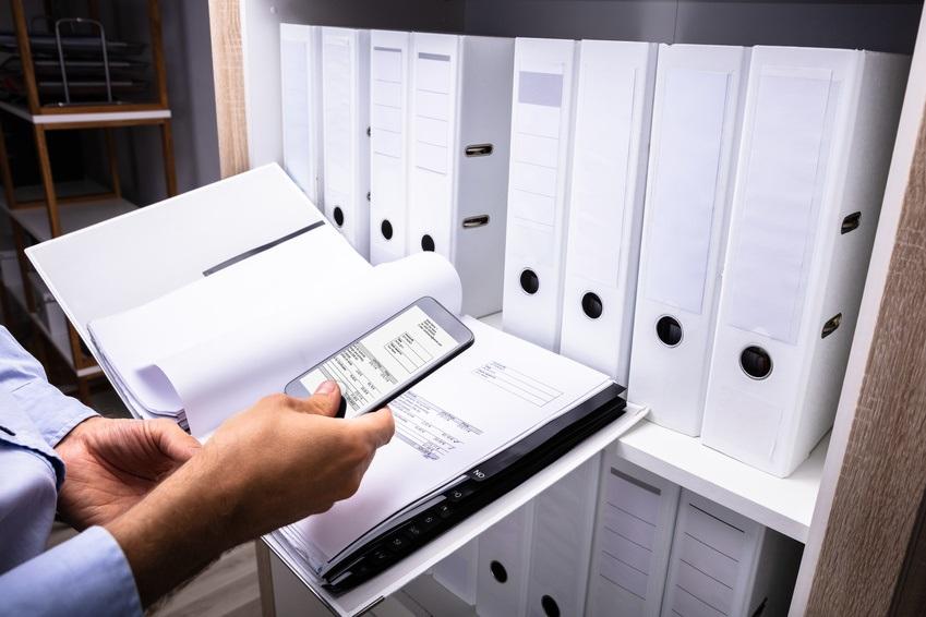Scanner un document avec un smartphone